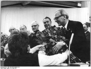 Photo: VIII. Parteitag der SED 1971, by Peter Koard, Bundesarchiv Bild 183-K0619-0001-014, CC-BY-SA 3.0