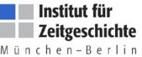 Logo: Institut für Zeitgeschichte (IfZ)